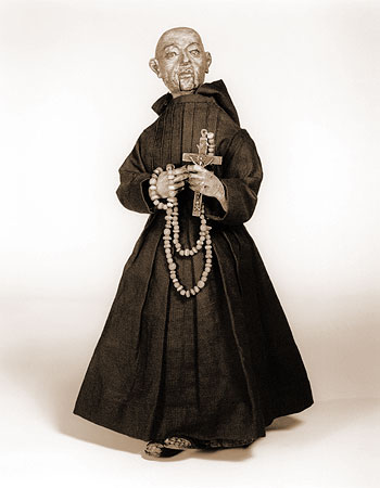 Automaton figure of a monk, South Germany or Spain, c. 1560; National Museum of American History, Smithsonian Institution, Washington, DC. From Blackbird Archive.
