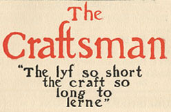 From The Craftsman Magazine archives