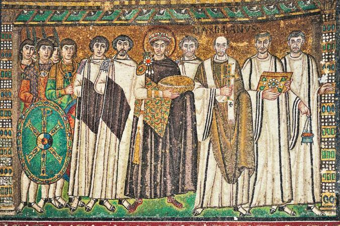 byzantine mural